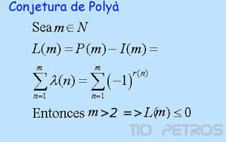 La conjetura de Polyà