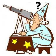 El telescopio del astrólogo.