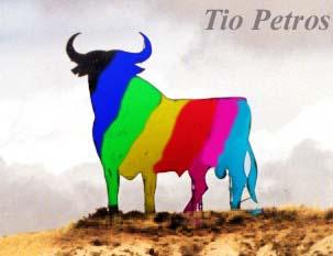 Siete colores sobre un toro